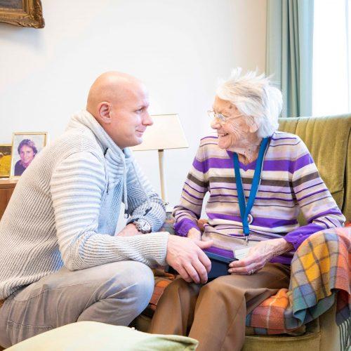 Het Henriëtte van Heemstra Huis in Ermelo biedt ouderen met een visuele beperking een warm thuis.