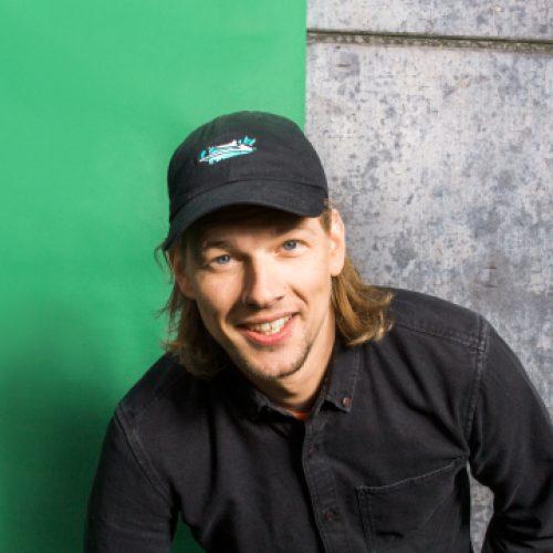 Portret 3FM-dj Sander