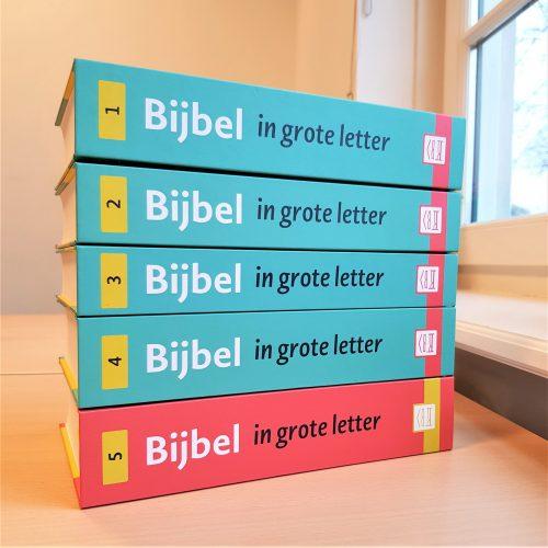 Zelf de Bijbel kunnen lezen is voor veel bewoners van Bartiméus een hartenwens. Daarom maken wij de aanschaf van Groot letter Bijbels mogelijk.