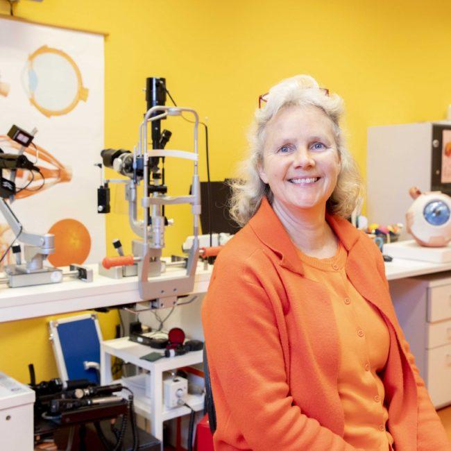 Florine Pilon, orthoptist