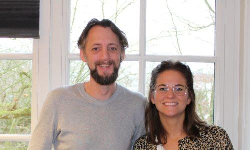 twee onderzoekers Dr. Eline Heppe en Dr. Chris van Klaveren