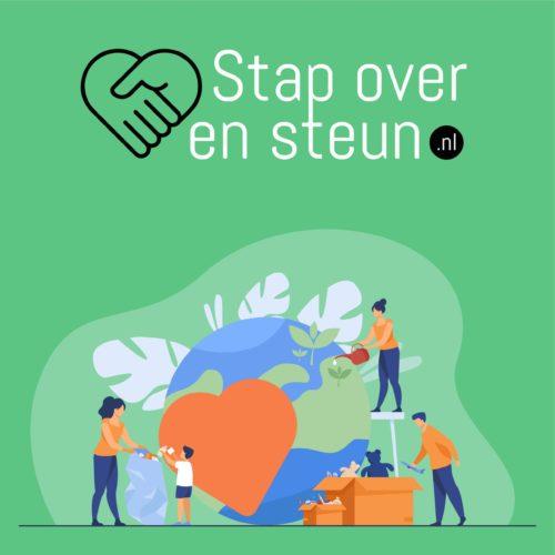 Logo Stap over en Steun